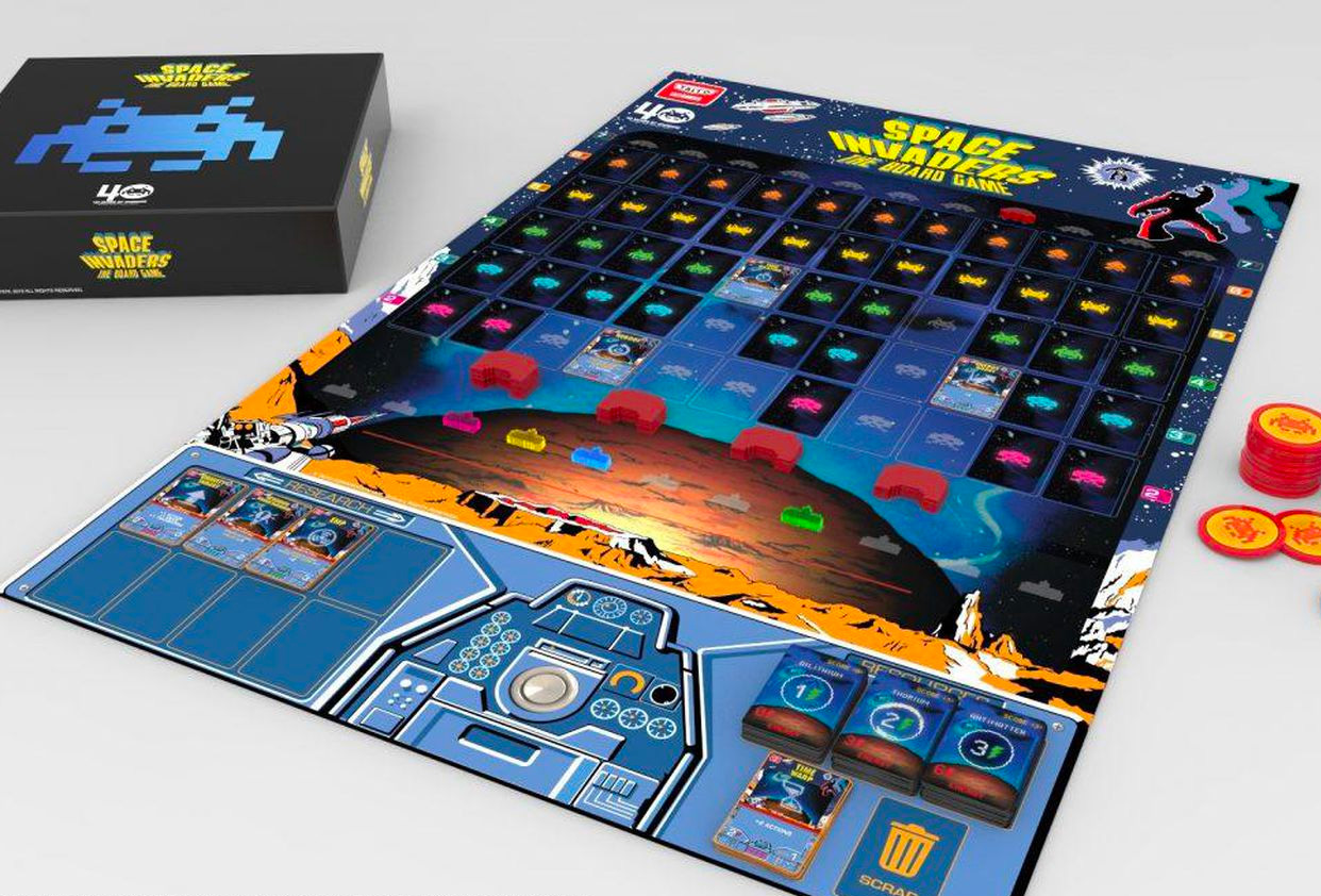 Now 40 Years Old, Space Invaders has Turned into a Board Game at werd.com
