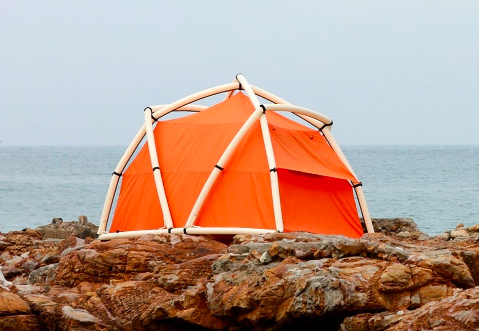 This Inflatable Tent Sets Up in 60 Seconds at werd.com