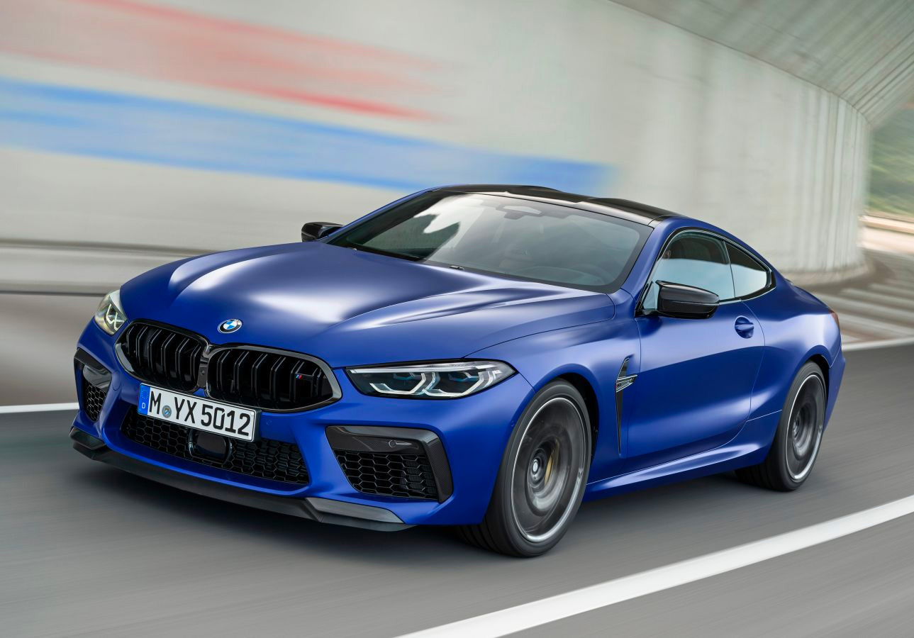 BMW's 2020 M8 is a Powerful Coupe at werd.com