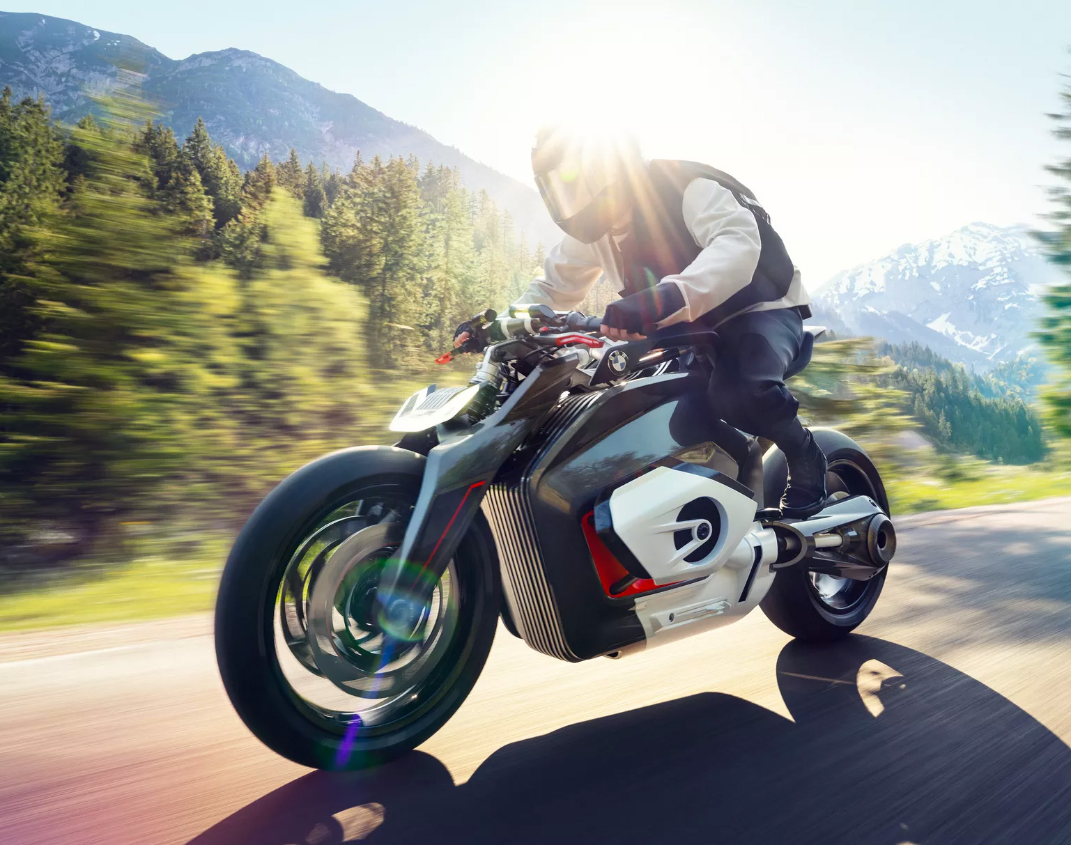 BMW Motorrad Unveils Electric Vision DC Roadster at werd.com