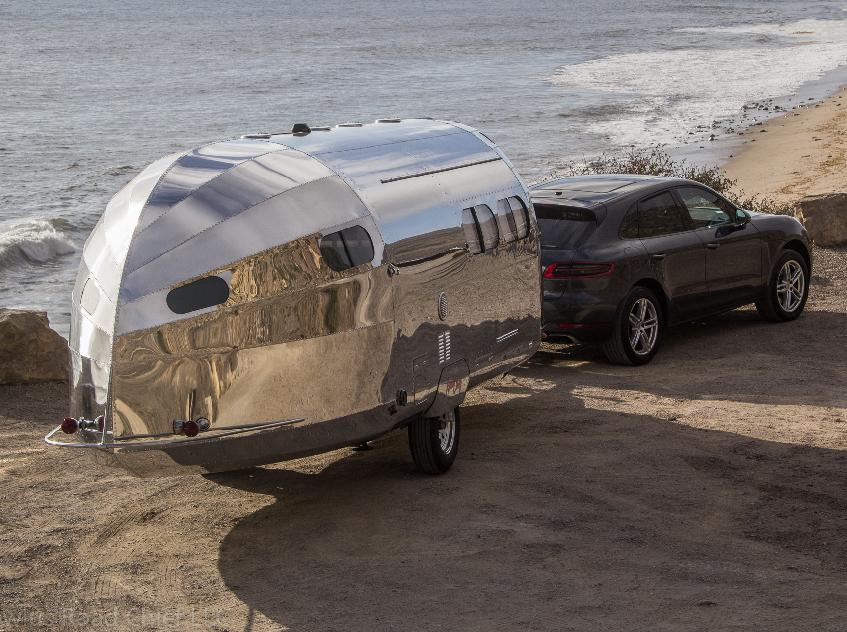Bowlus Rolls Out the Ultimate Chrome-Dipped Glamping Trailer at werd.com