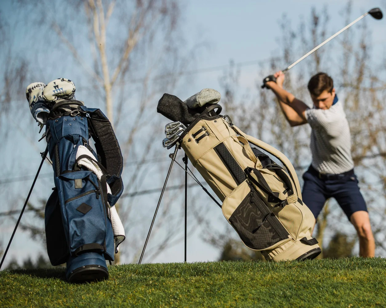 Jones' Lightweight Utility Trouper is the New Golf Bag Dad Deserves at werd.com