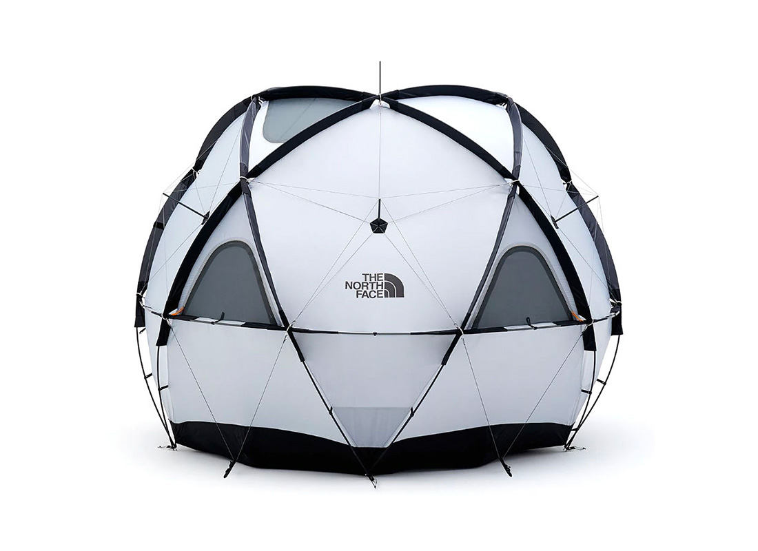 The North Face Geodome 4 Looks Like Fun at werd.com