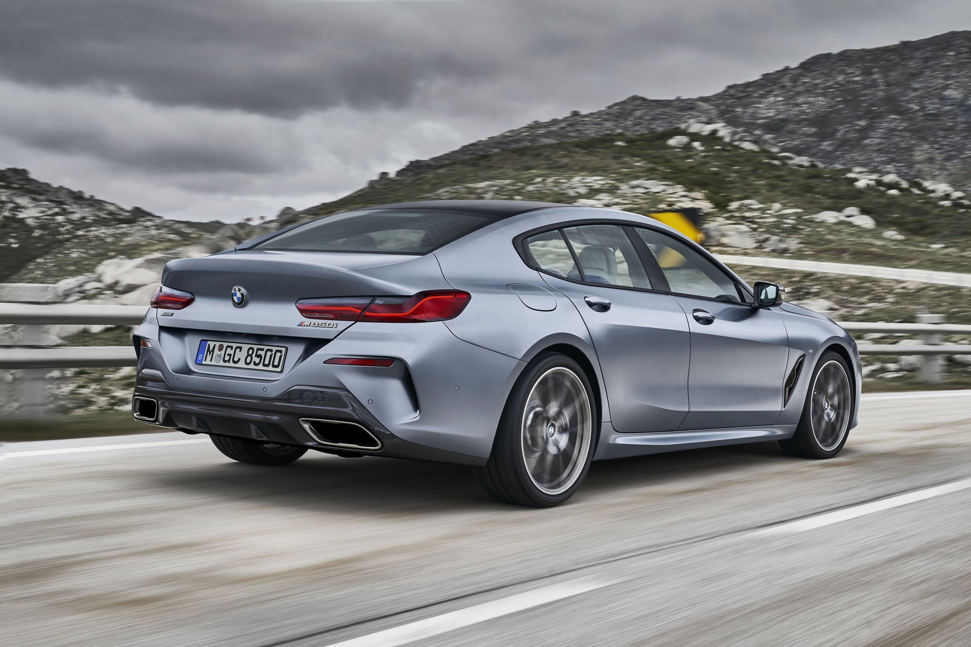 BMW Rolls Out Sporty 8 Series Grand Coupe at werd.com