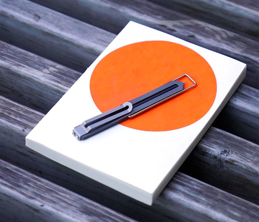 The Titanium Type-C Pen Was Made for Marginalia at werd.com