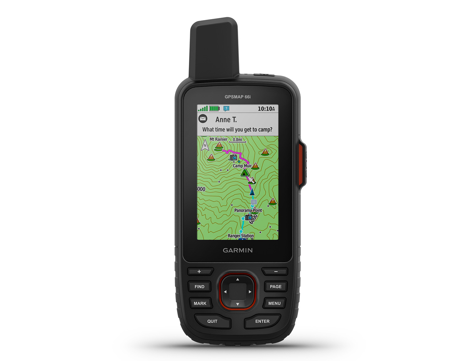 Garmin Brings Satellite Connectivity to the GPSMAP 66i at werd.com