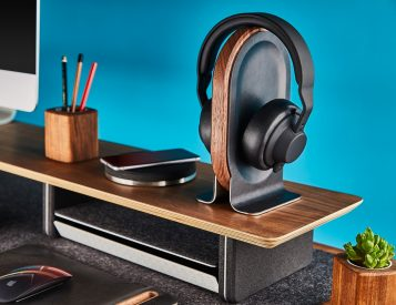 This is the Headphone Stand Your Desk Deserves