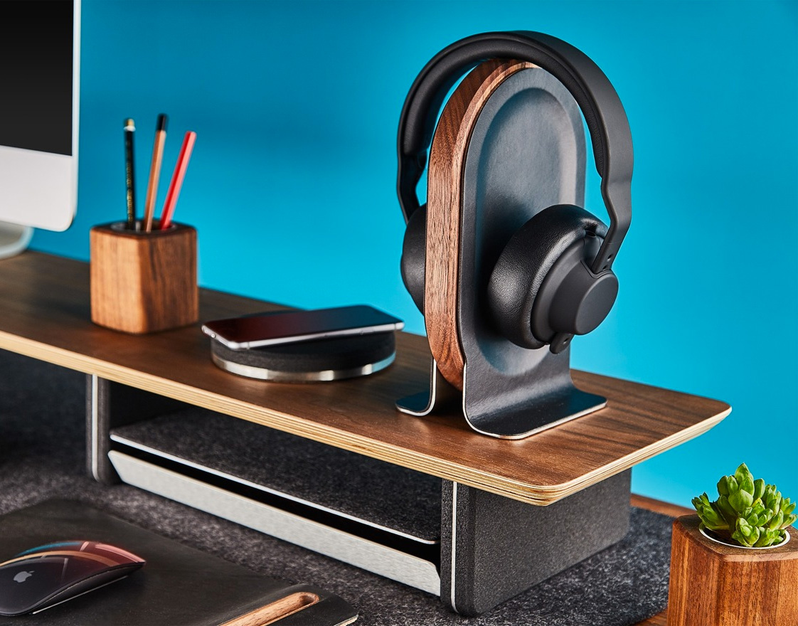 This is the Headphone Stand Your Desk Deserves at werd.com