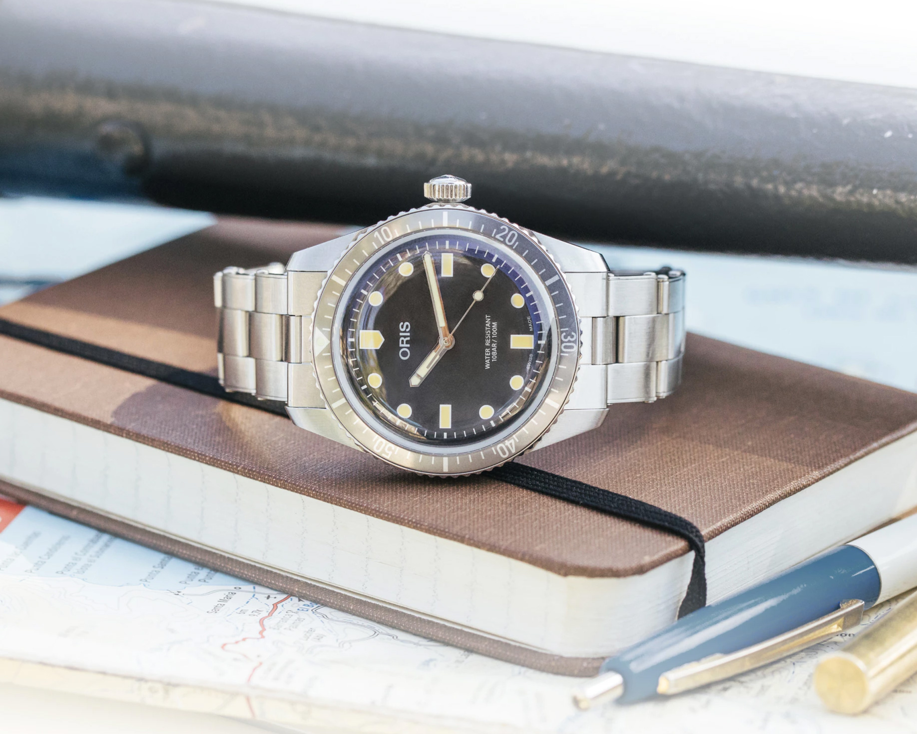 Hodinkee & Oris Team Up On Limited Edition Dive Watch at werd.com