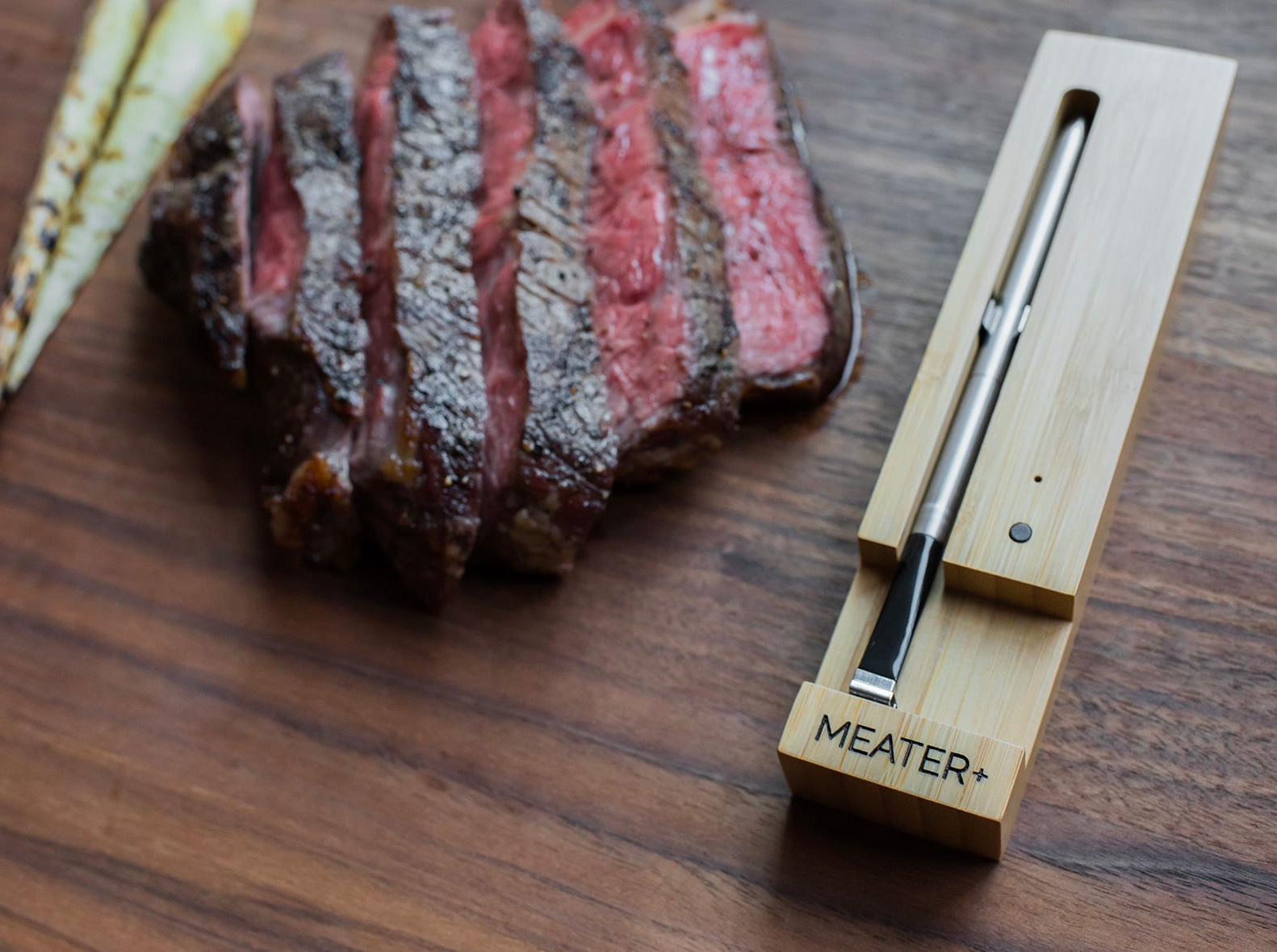 Meet Meater+, the Wireless Smart Meat Thermometer at werd.com