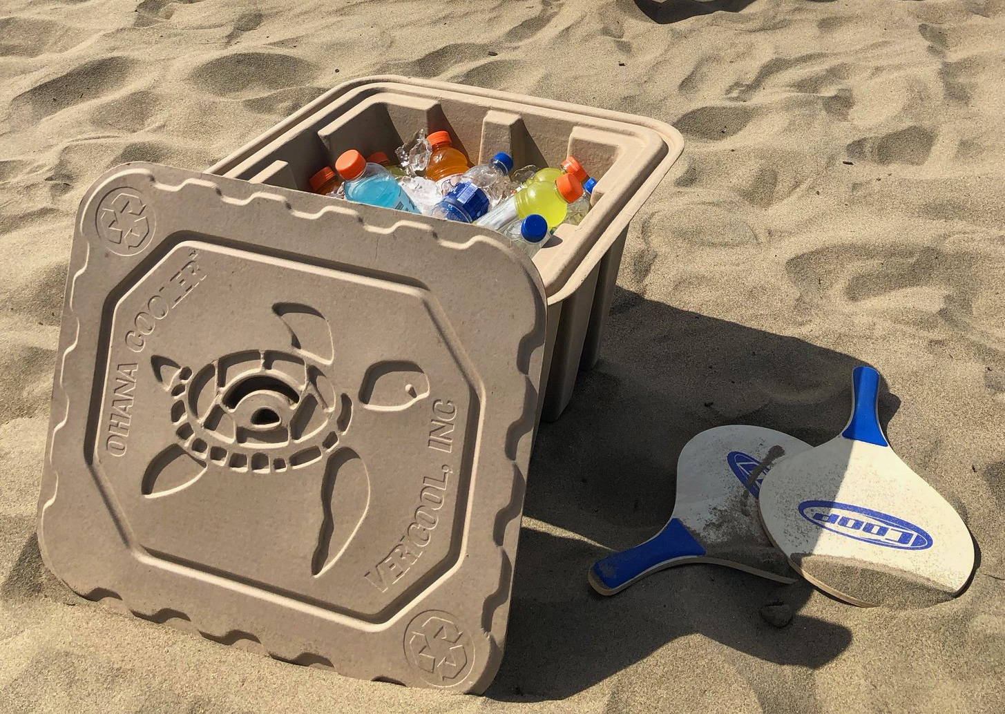 Vericool's Biodegradable Ohana Cooler is Way Cooler than Styrofoam at werd.com