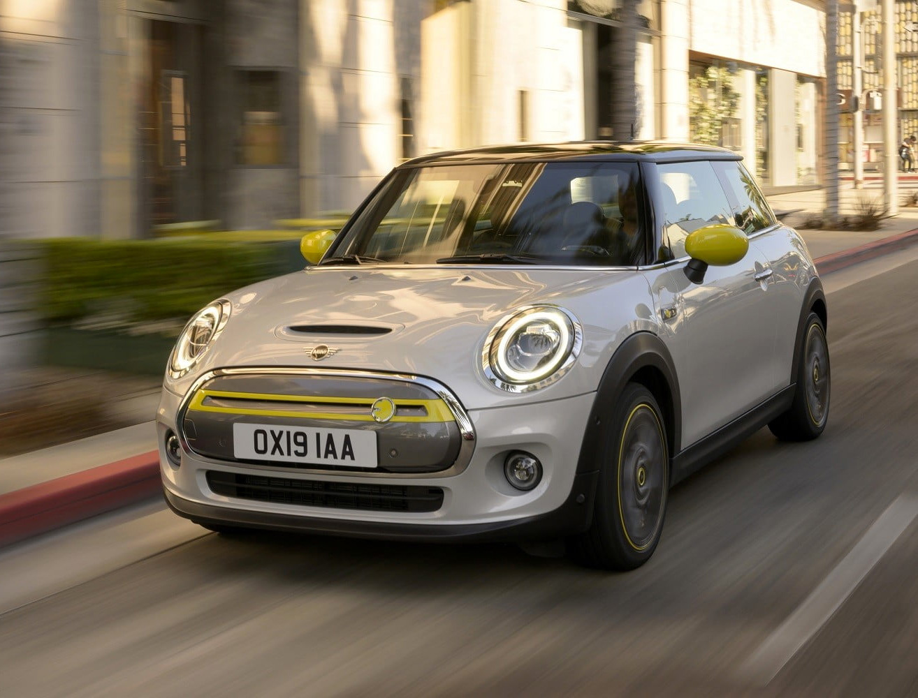 The 2020 Mini Cooper SE is All-Electric at werd.com
