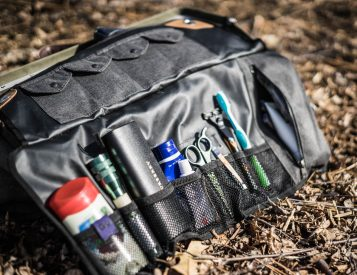 The Tashtego 2.0 is a Tool Roll for Toiletries