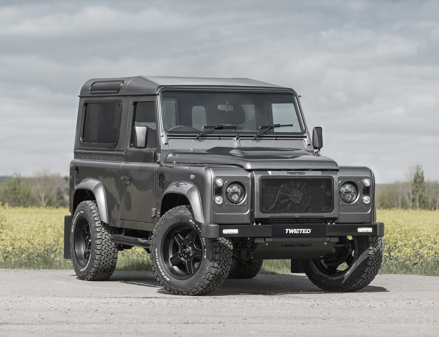 Get Twisted & Get Into the Land Rover of Your Dreams at werd.com