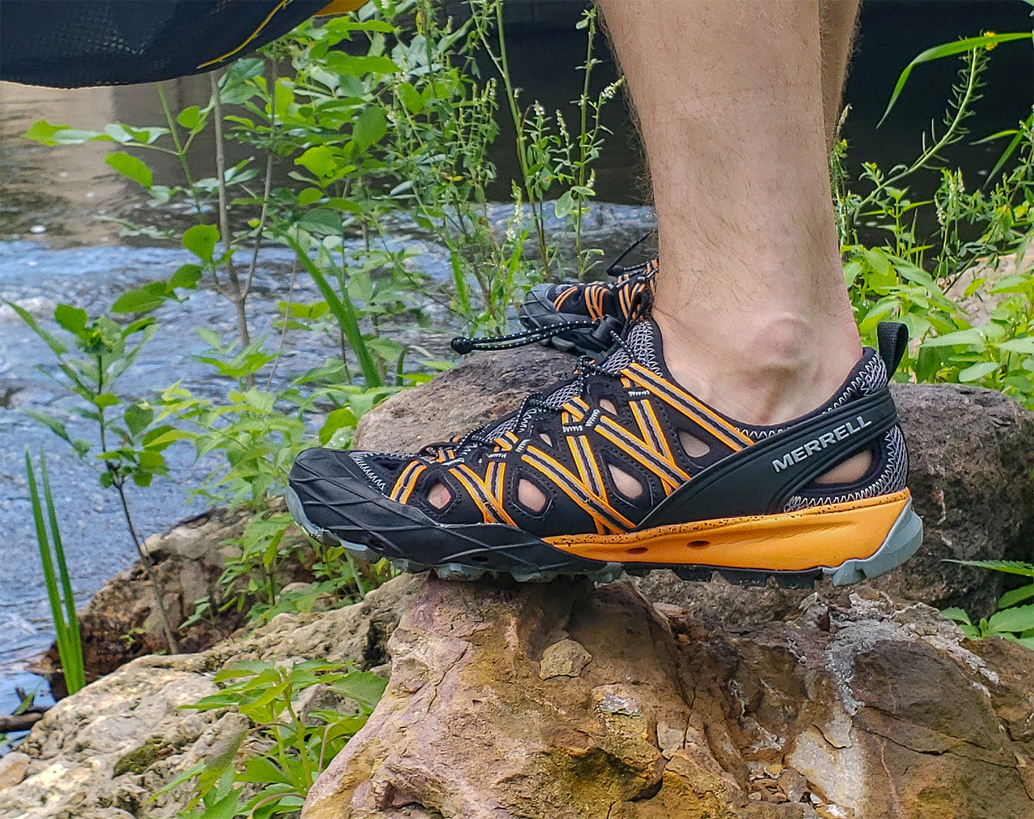 These Water-Ready Merrell Hikers Will Keep You Cool at werd.com