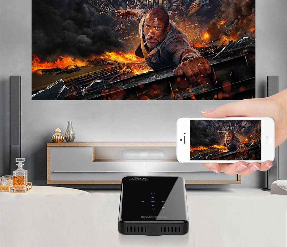We Found the World's Most Portable HD Projector at werd.com