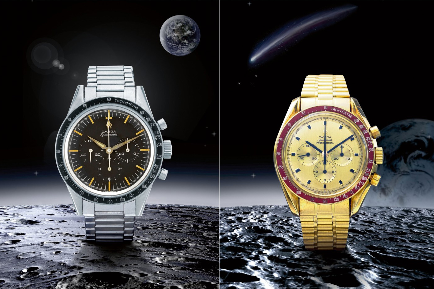 Sotheby's Celebrates 50th Anniversary of Apollo 11 with Rare Omega Speedmasters at werd.com
