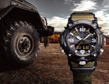 The G-Shock Mudmaster GG-B100 is Built for Extreme Adventure