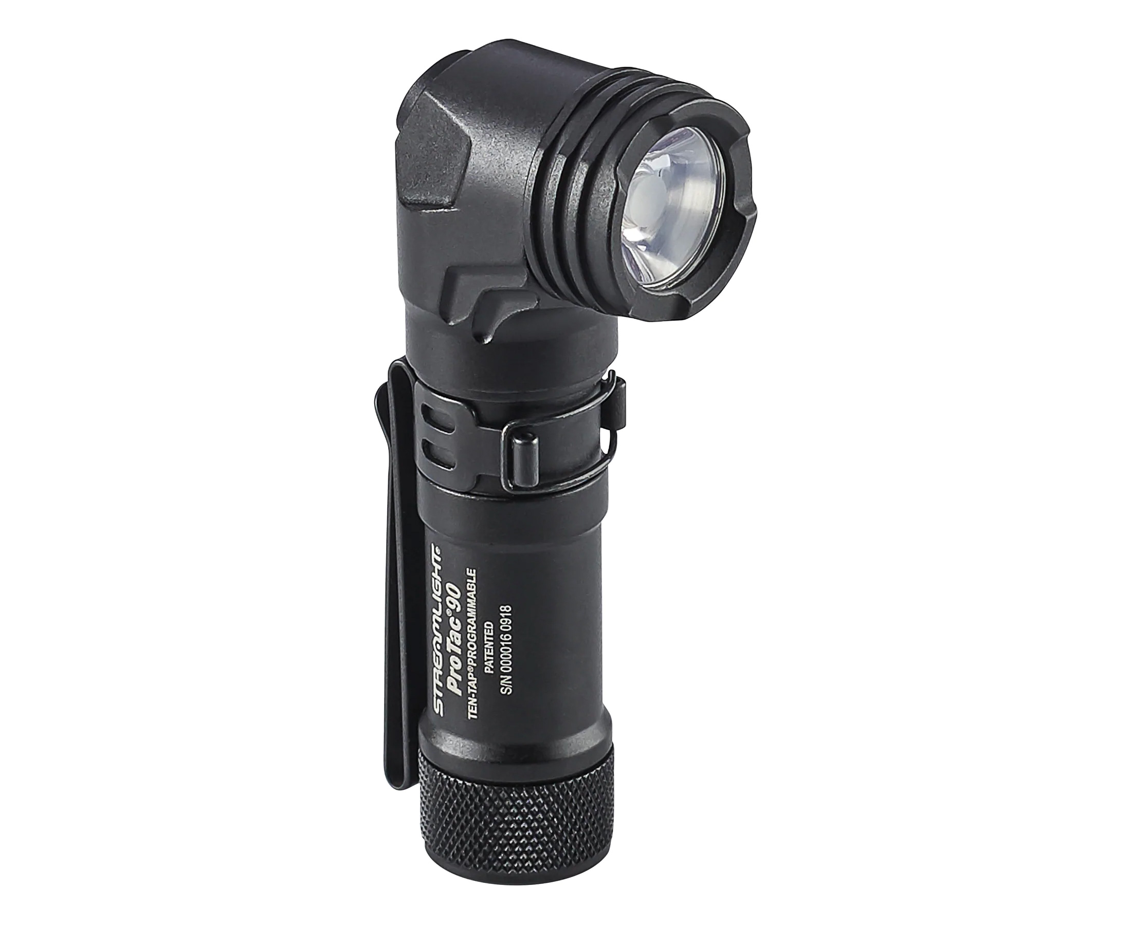 The ProTac 90 EC Flashlight Takes a Fresh Angle at werd.com