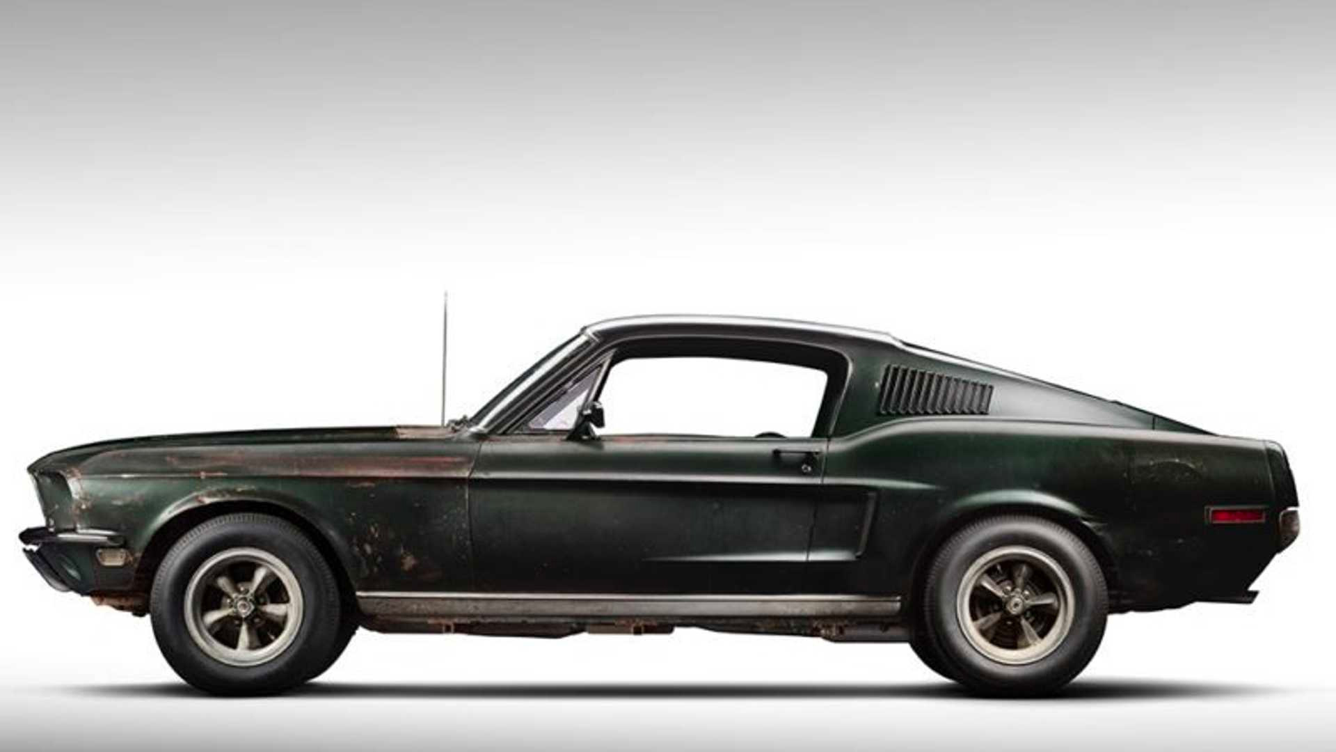 Steve McQueen's <i>Bullitt</i> Mustang Could Set a New Price Record at werd.com