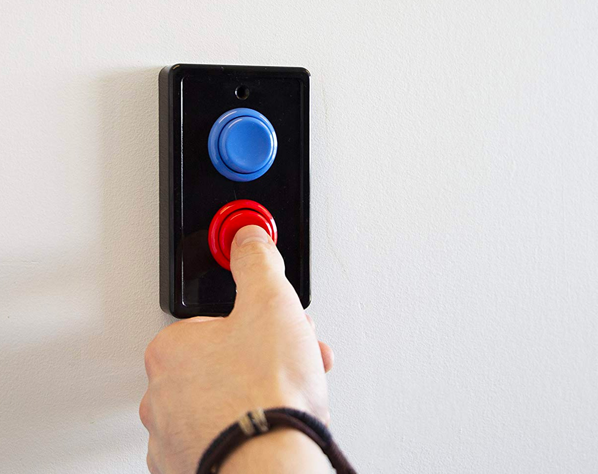 This Light Switch Cover Adds Arcade Flair To Your Home at werd.com