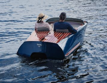 Classic Meets Modern In Beau Lake Electric Boats