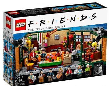 Lego Celebrates 25 Years of <i>Friends</i> with Limited Central Perk TV Set