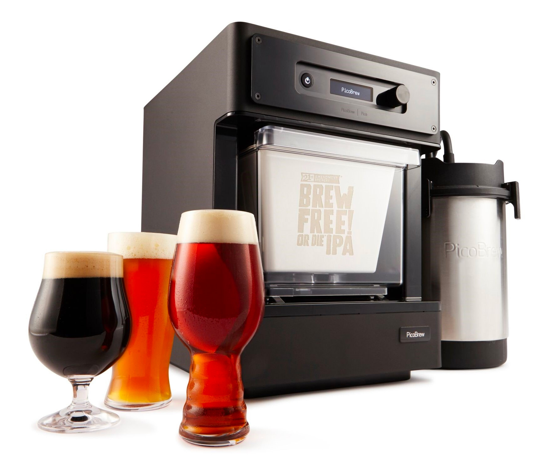 With the Pico C System, Homebrewing is Truly Effortless at werd.com