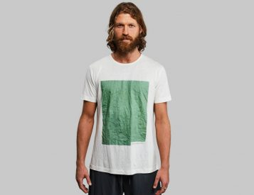 The Plant and Algae T-Shirt is Made To Biodegrade