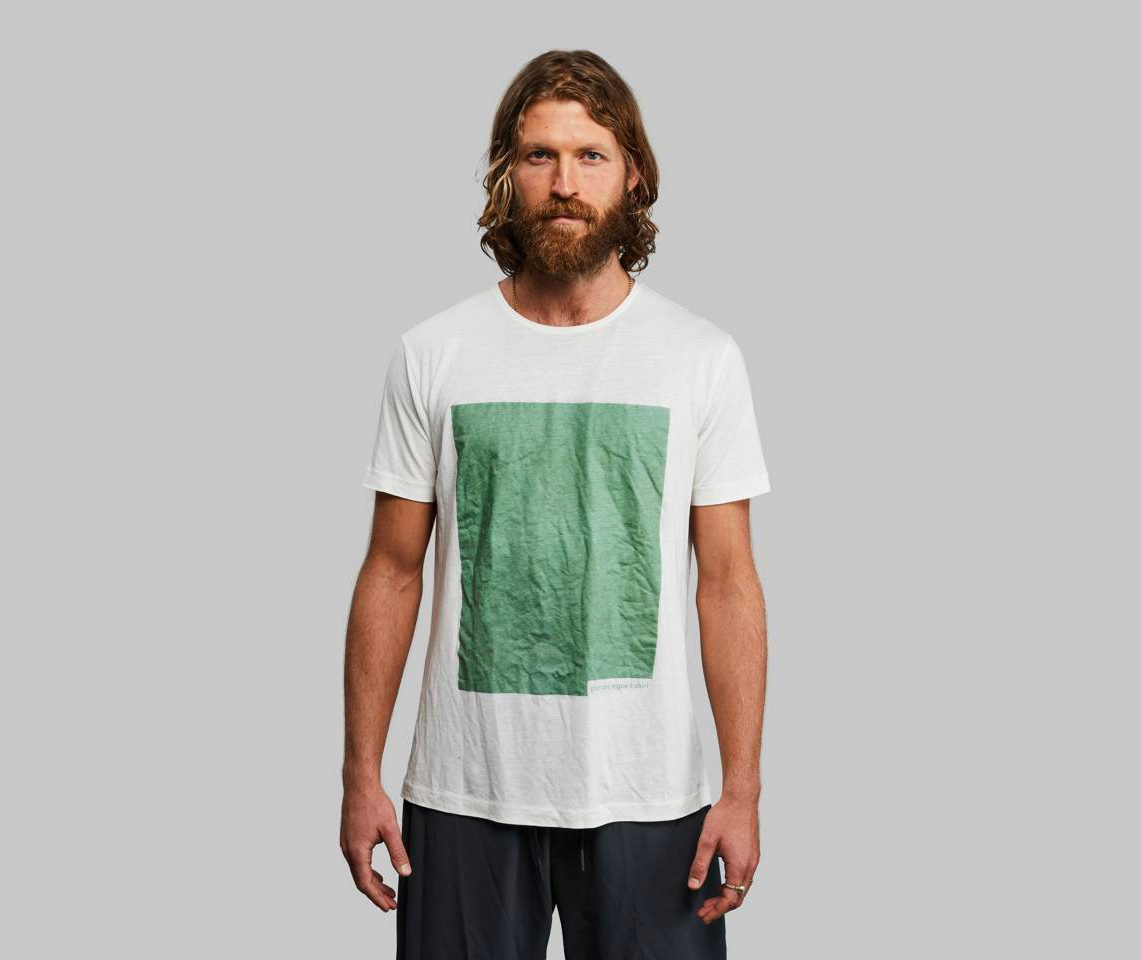 The Plant and Algae T-Shirt is Made To Biodegrade at werd.com