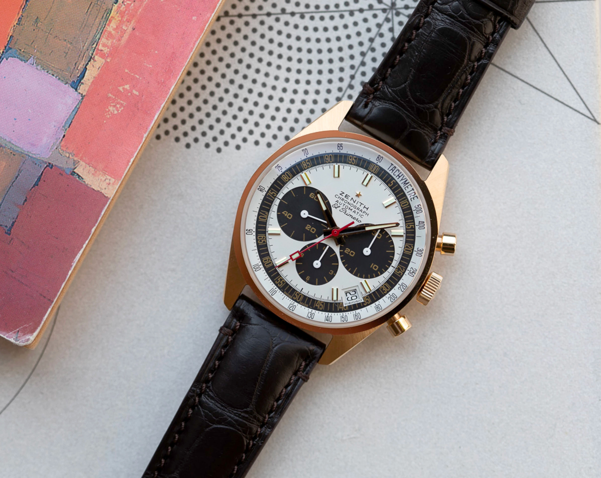 Zenith Celebrates 50 Years of Innovation with the El Primero Revival G381 at werd.com