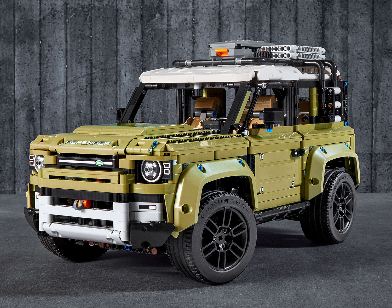 Lego & Land Rover Team Up on 2020 Defender Kit at werd.com