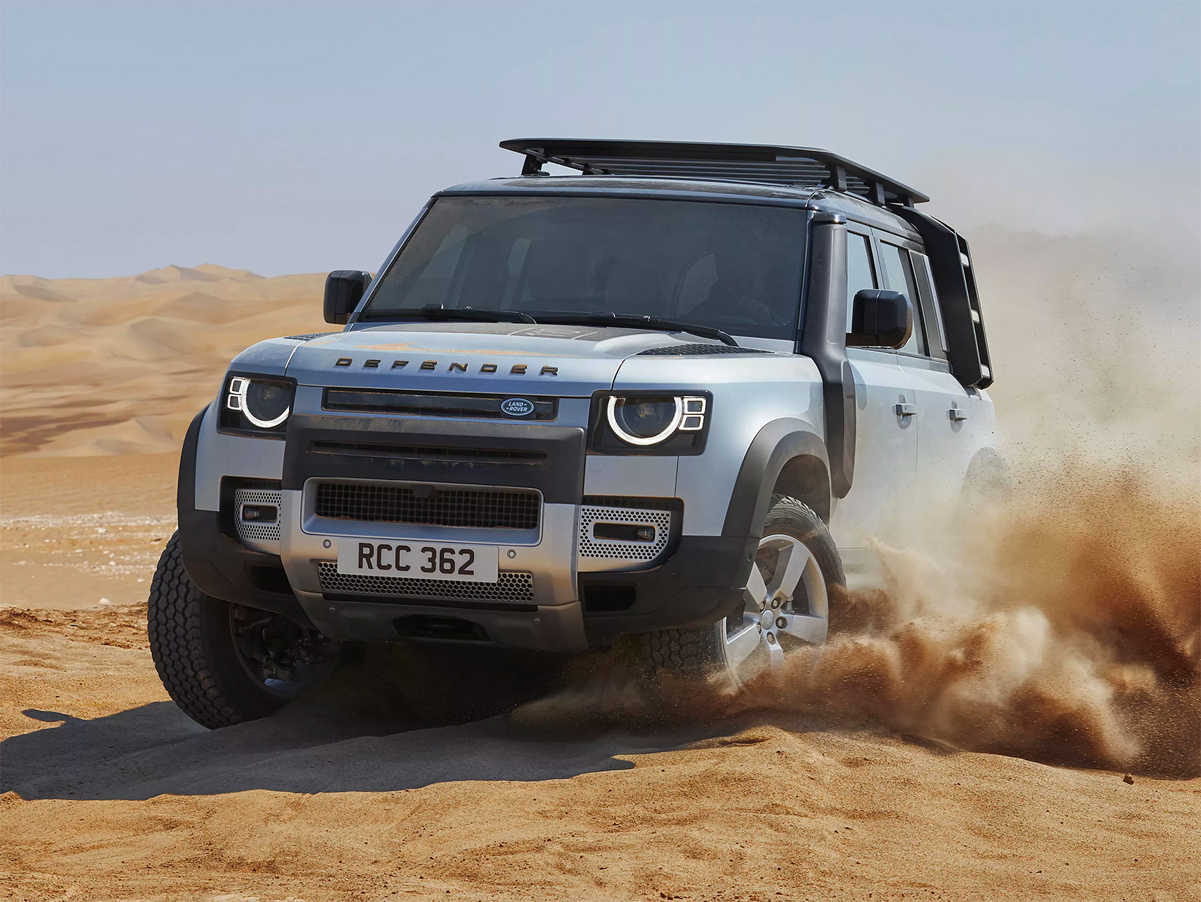 Land Rover Unveils Redesigned 2020 Defender at werd.com