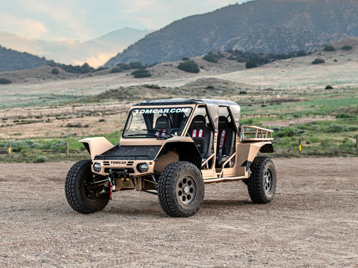 There's No Terrain Too Tough for the 2020 Tomcar TX at werd.com
