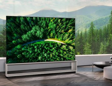Go Huge with LG's 88-Inch 8K OLED TV