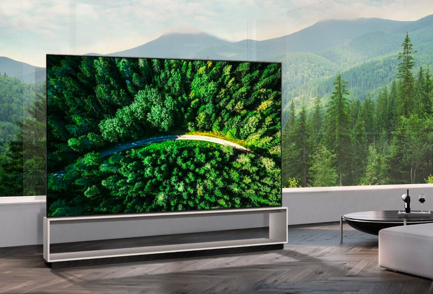 Go Huge with LG's 88-Inch 8K OLED TV at werd.com