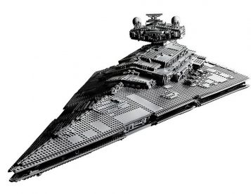 Lego Launches 4874-Piece Imperial Star Destroyer Set