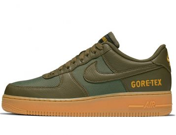 Nike Air Force Ones Featuring Gore-Tex are Classic Kicks for Winter Weather