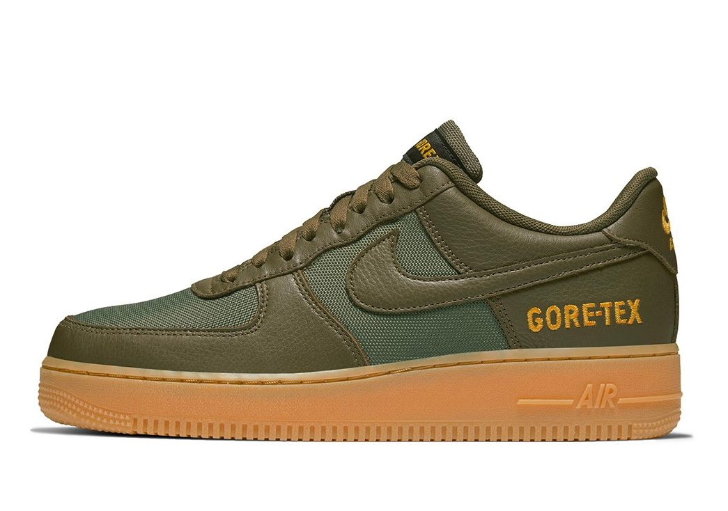 Nike Air Force Ones Featuring Gore-Tex are Classic Kicks for Winter Weather at werd.com