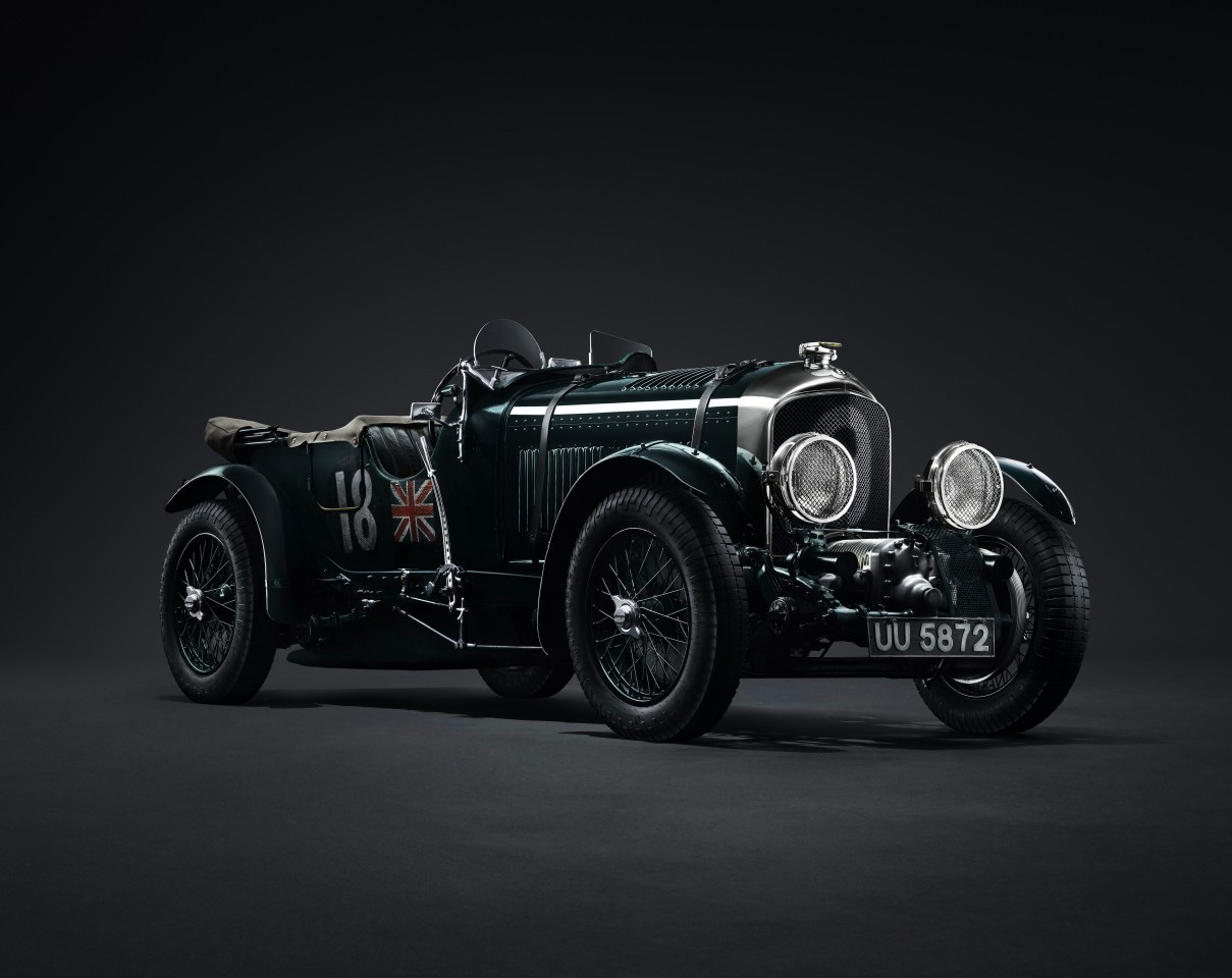 Bentley Revives 1929 Blower Race Car for Limited Production Run at werd.com