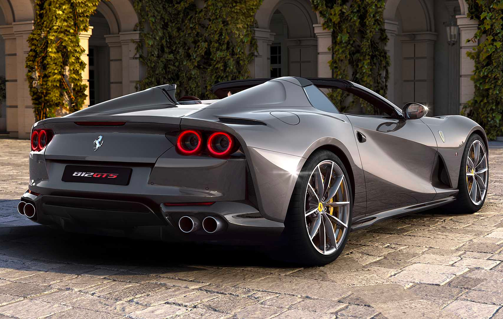 Ferrari Rolls Out a Superfast Convertible: the 812 GTS at werd.com
