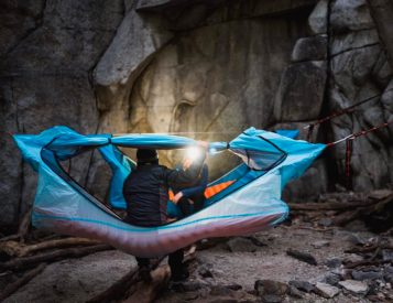 The Haven Hammock Tent is Better for Your Back
