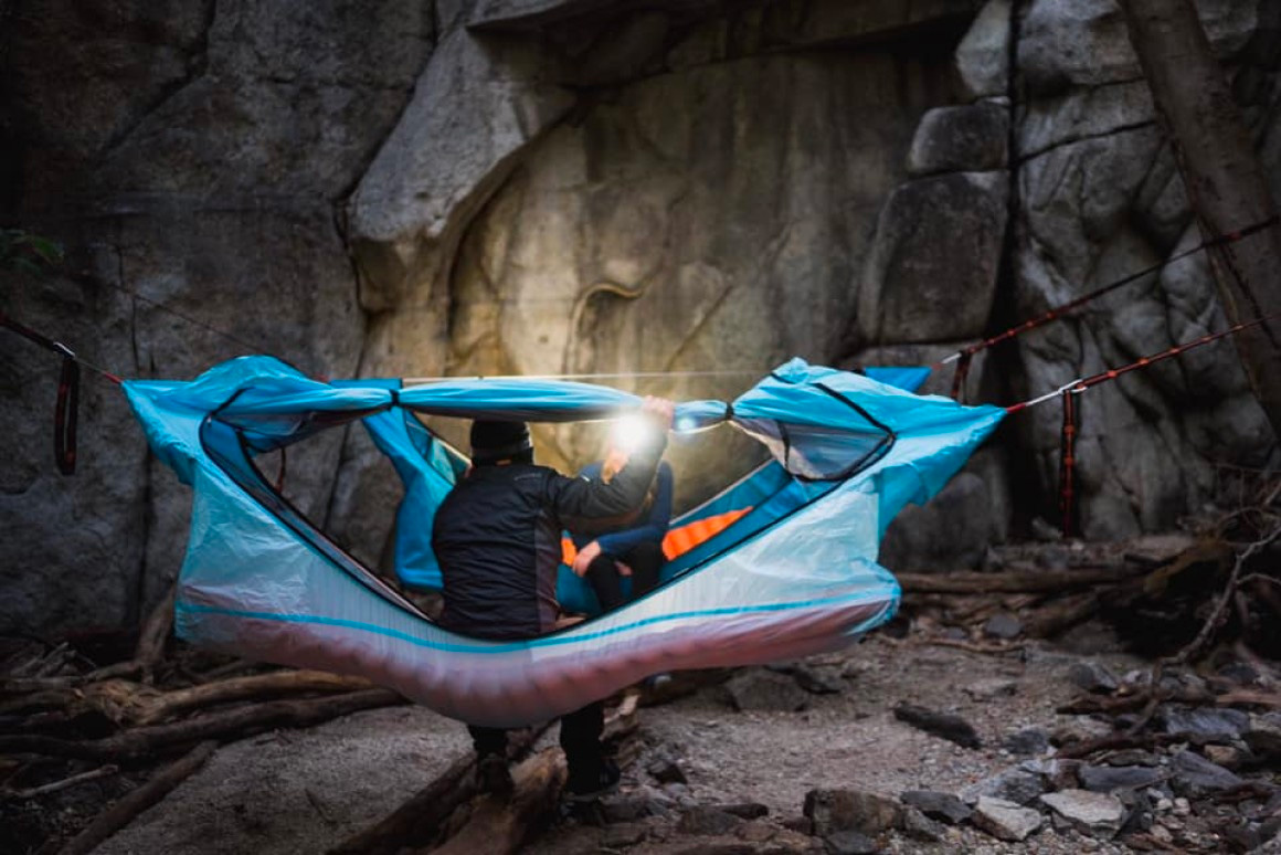 The Haven Hammock Tent is Better for Your Back at werd.com
