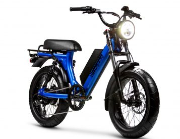 The All-Electric Juiced Scorpion Looks Like a Modern Moped