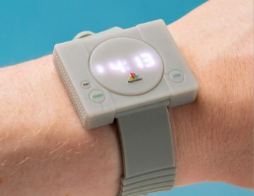 Playstation Watch Celebrates the Classic Console