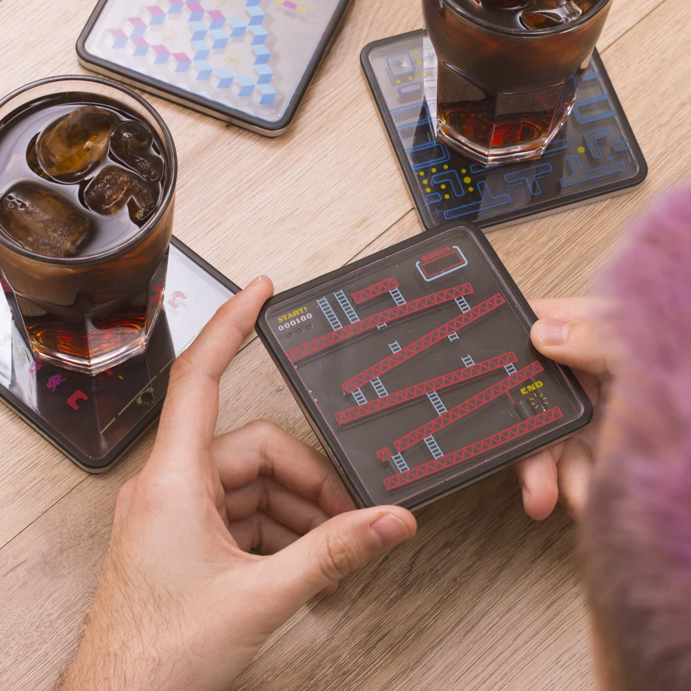Play a Different Drinking Game with Puzzle Coasters at werd.com