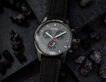 TRIWA X Humanium Watches are Made from Melted Down Guns