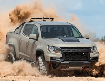 For 2021, the Chevy Colorado Got a Nose Job