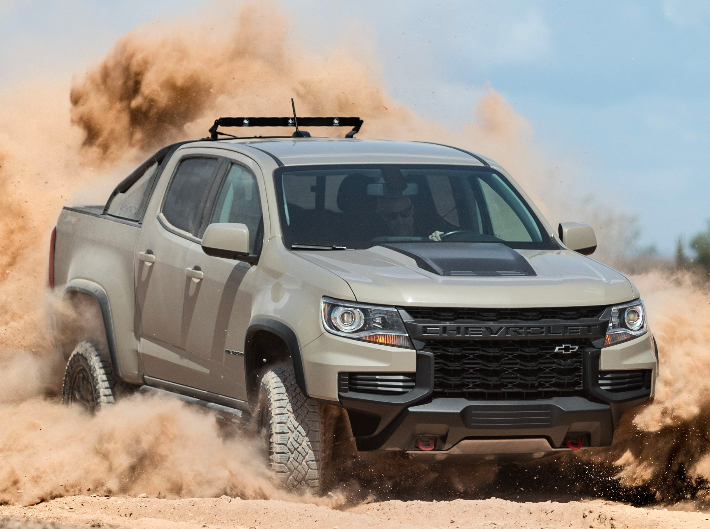 For 2021, the Chevy Colorado Got a Nose Job at werd.com