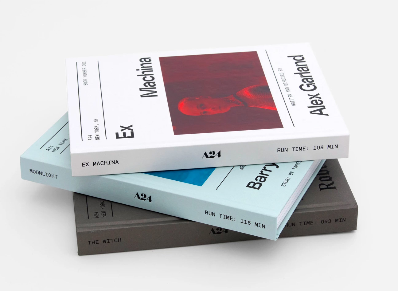 A24 Screenplay Books Celebrate Original Cinema at werd.com